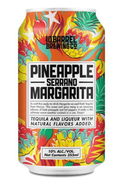 10 Barrel Brewing Co. Pineapple Serrano Margarita