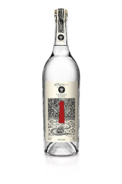 123 Organic Blanco Tequila (Uno)