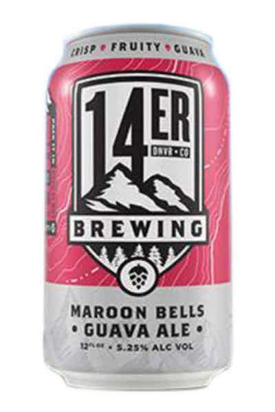 14er Brewing Maroon Bells Guava Ale
