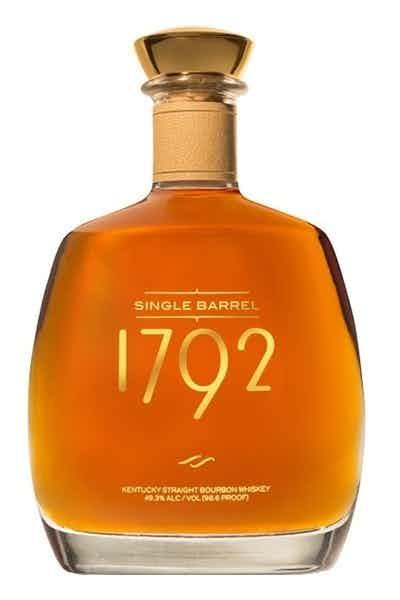 1792 Single Barrel Kentucky Straight Bourbon Whiskey