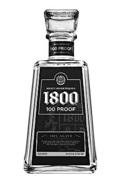 1800 100 Proof Tequila