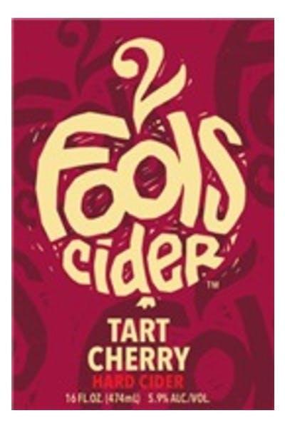 2 Fools Tart Cherry Cider