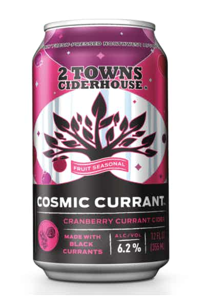 2 Towns Cosmic Currant Cider