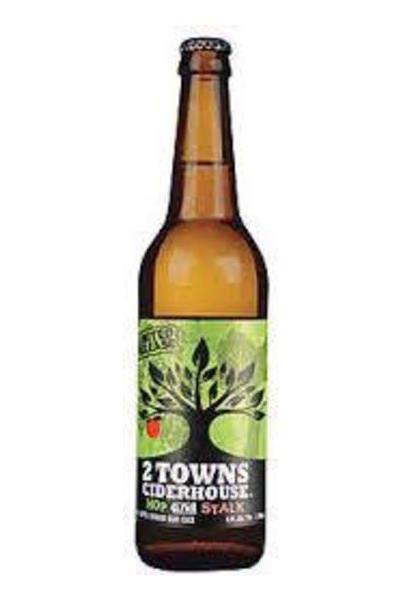 2 Towns Hop & Stalk Cider