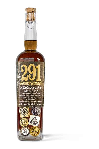 291 Barrel Proof Single Barrel  Whiskey