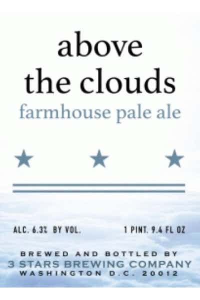 3 Stars Brewing Above The Cloud