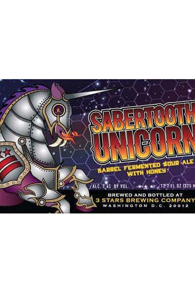 3 Stars Sabertooth Unicorn Sour