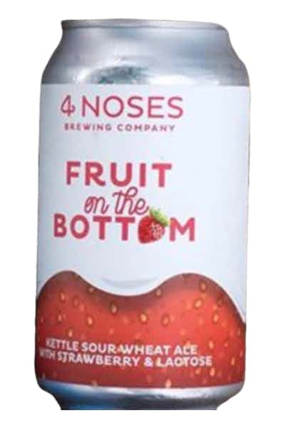 4 Noses Brewing Fruit on the Bottom