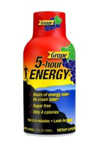 5 Hour Energy Grape