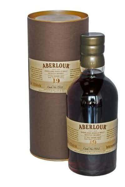 Aberlour First Fill Sherry Butt Single Cask 19 Year
