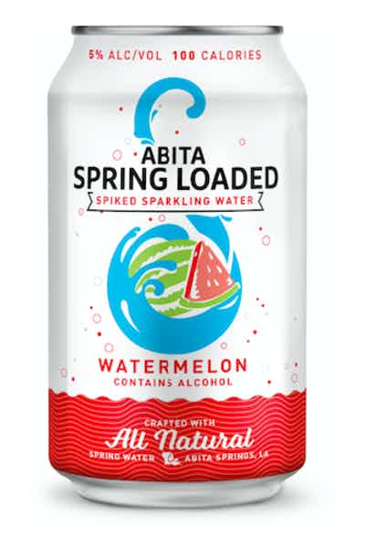 Abita Spring Loaded Watermelon Spiked Sparkling Water