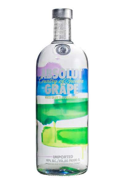 Absolut Grape Vodka