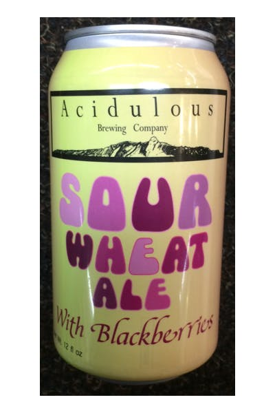 Acidulous Sour Wheat Ale