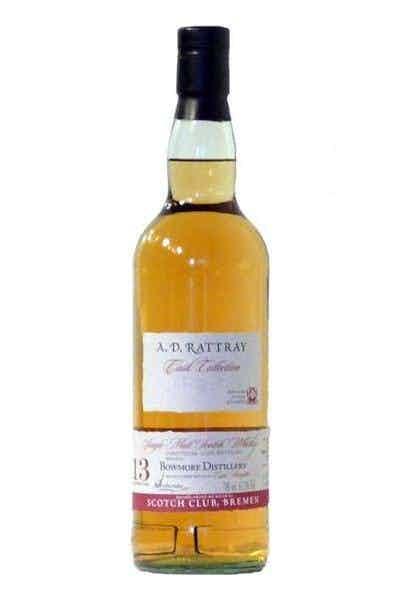 A.D. Rattray Bowmore Single Malt Scotch Whiskey 13 Year