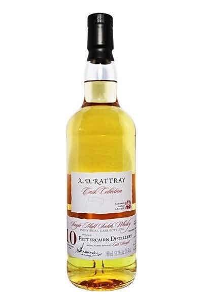 A.D. Rattray Fettercairn Single Malt Scotch Whiskey 10 Year