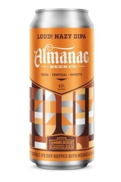 Almanac Loud! Hazy Double IPA