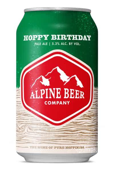 Alpine Beer Co. Hoppy Birthday