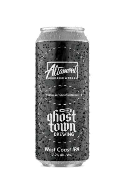 Altamont Ghost Town Friends with Social Distances IPA
