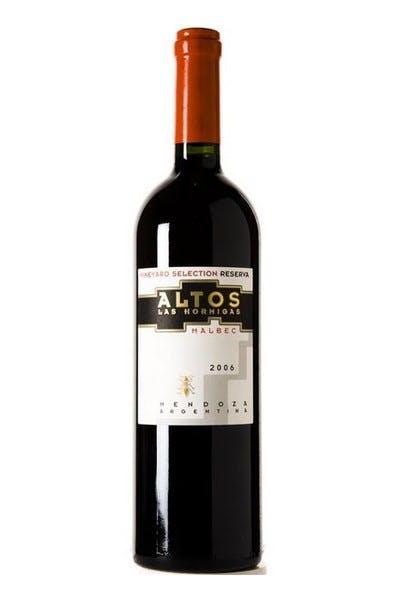 Altos Los Hormigas Malbec Rsv 2012