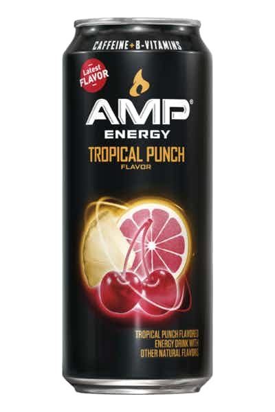 Amp Energy Tropical Punch