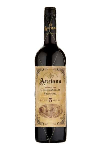 Anciano Tempranillo Aged 5 Years