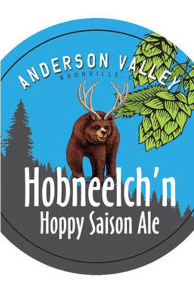 Anderson Valley Hobneelch'n Hoppy Saison