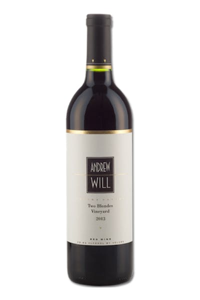 Andrew Will Red Blend Two Blondes 2013