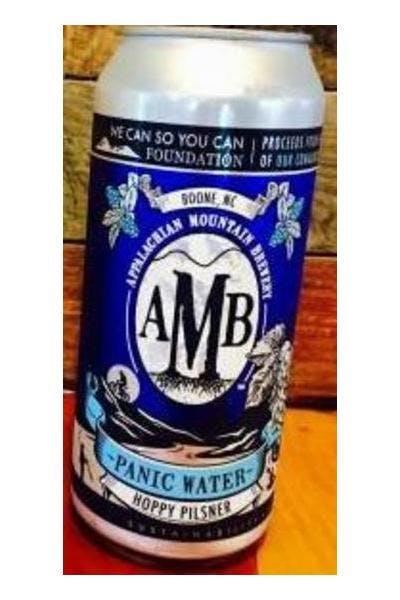 Appalachian Mountain Brewery Panic Water Hoppy Pilsner