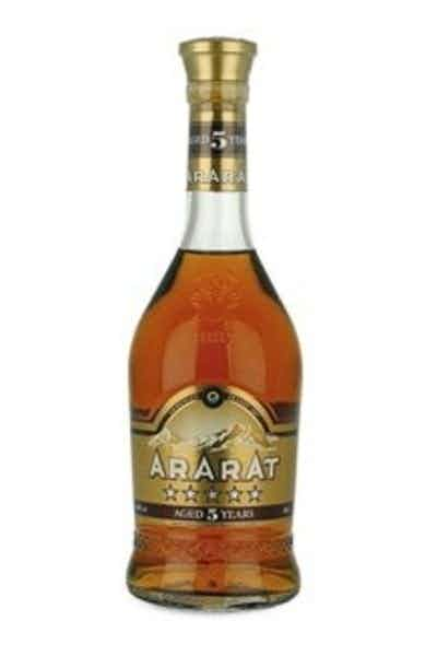 Ararat 5 Year Armenian Brandy