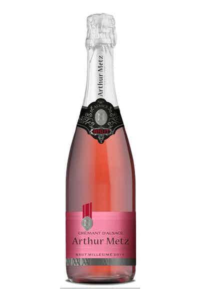 Arthur Metz Cremant D'alsace Rose