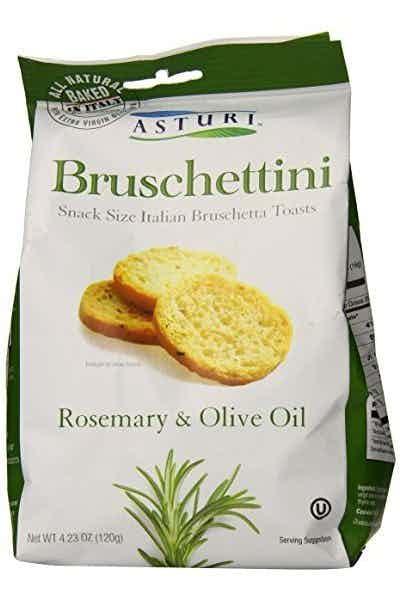 Asturi Bruschettini Rosemary Olive Oil Toasts