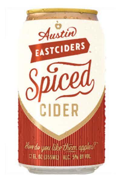 Austin Eastciders Spiced Cider (Seasonal)