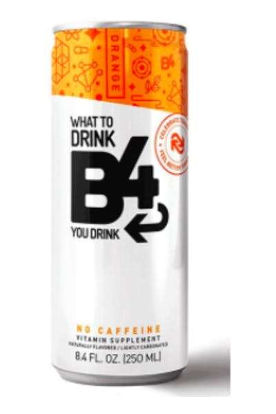 B4 Vitamin Supplement Orange