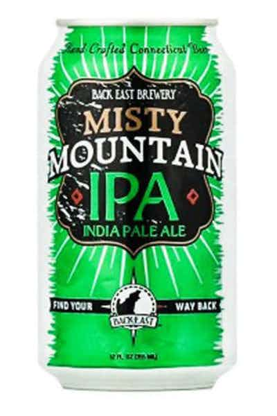 Back East Misty Mountain IPA