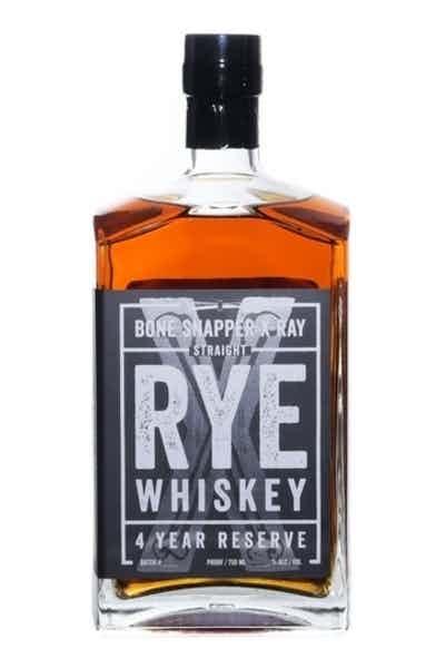 Backbone Bone Snapper X Ray 4 Year Rye Whiskey
