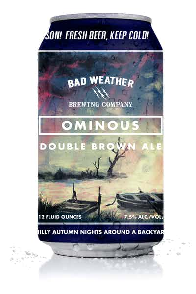 Bad Weather Ominous Double Brown Ale