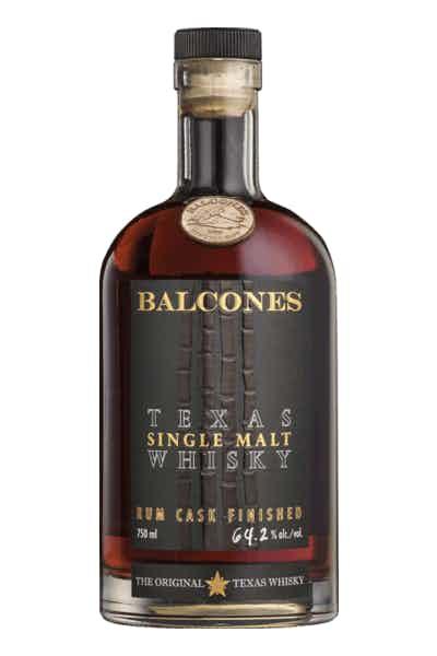 Balcones Single Malt Whiskey Rum Cask Finished