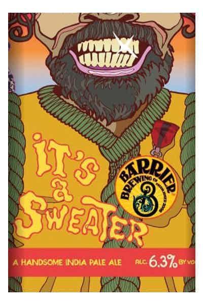 Barrier It's A Sweater