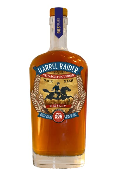 Batch 206 Barrel Raider Bourbon Whiskey