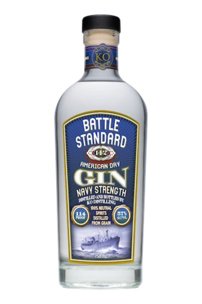 Battle Standard American Gin Navy Strength