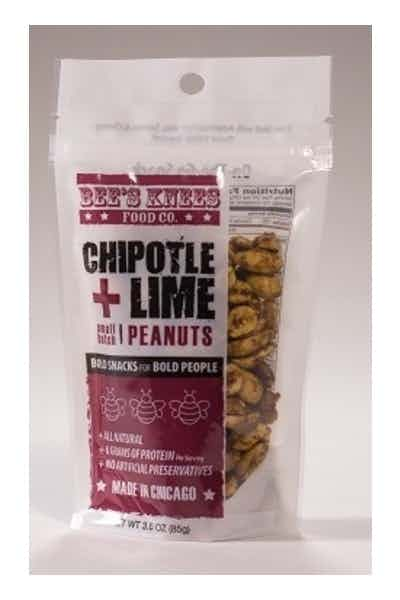 Bees Knees Chipotle Lime Roasted Peanuts
