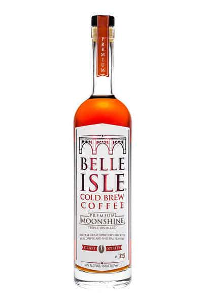 Belle Isle Cold Brew Coffee Moonshine