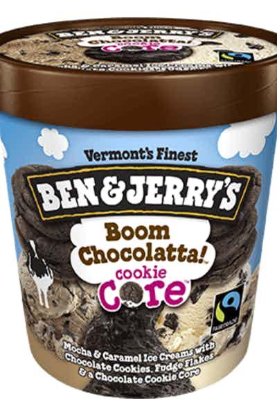 Ben & Jerry's Boom Chocolatta! Cookie Core
