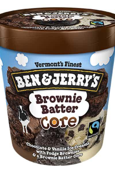 Ben & Jerry's Brownie Batter Core Pint