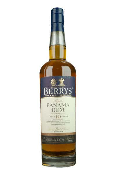 Berrys' Panama 10yr Rum