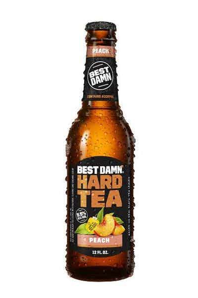 BEST DAMN Peach Hard Tea