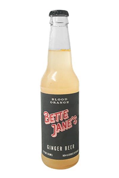 Bette Jane's Blood Orange Ginger Beer