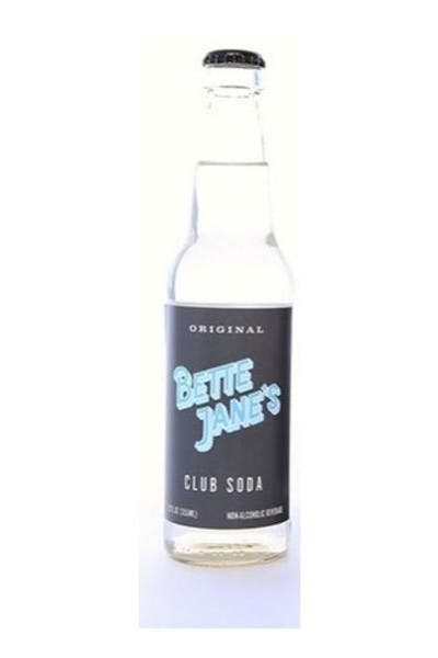 Bette Jane's Club Soda Single Bottle