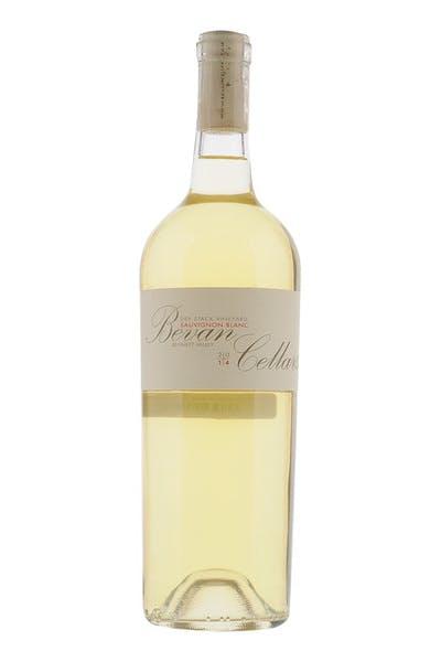 Bevan Sauvignon Blanc Dry Stack Vineyard Bennett Valley