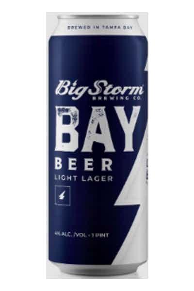 Big Storm Brewing Co. Bay Beer Light Lager